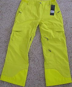 NEW WITH TAGS FLYLOW STASH SKI SNOWBOARD PANTS MEN'S SIZE LARGE