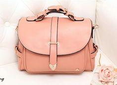 Pink Vintage Cute Messenger Bag