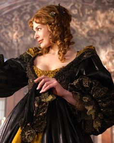 Milla Jovovich as Milady de Winter in The Three Musketeers (2011).