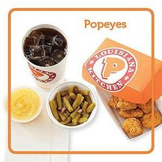 Top Fast-Food Picks for People with Diabetes | Diabetic Living Online POPEYE'S 6 PIECE CHICKEN TENDERS WITH GREEN BEANS & APPLESAUCE. THIS SITE KEEPS RECOMMENDING DIET SODA. DON'T DRINK IT!! GET UNSWEET TEA INSTEAD.