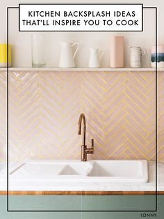 Bilderesultat for pink tiles backsplash Deco Design, Küchen Design, Wills Design, Design Homes, Design Ideas, Clean Design, Interior Design Kitchen, Kitchen Decor, Kitchen Paint