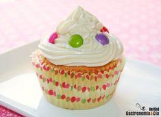 Cupcakes de manzana y frosting de toffee