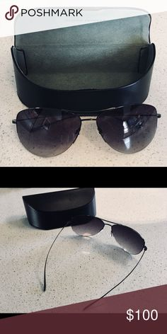Oliver People's sunglasses New without tag. Has box Oliver Peoples Accessories Sunglasses