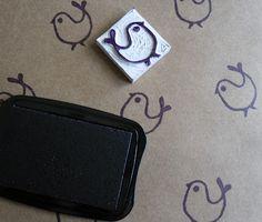 Bella Linke - encadernação, cartonagem e outras artices: Carimbos Artesanais