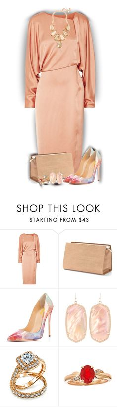 """""""Wear it in a Silk Dress"""" by sarahguo ❤ liked on Polyvore featuring Tom Ford, Aspinal of London, Kendra Scott and Bling Jewelry"""