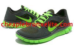 9a4209ec6f03 Low Black Nike Free Run 3 Mens Electric Green 510642 330 Nike Free Run 3