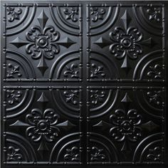 "Decorative Ceiling Tiles, Inc. Store - Wrought Iron - Faux Tin Ceiling Tile - Glue up - 24""x24"" -"
