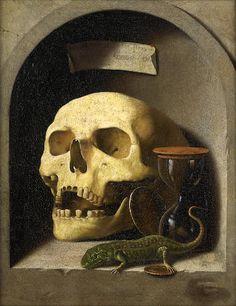 Danse Macabre, Memento Mori Art, Vanitas Vanitatum, Crane, Human Skull, Skull And Bones, Renaissance, Skull Art, Stone Painting