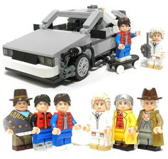 Great Scott! LEGO Back to the Future Set Gets Official -- It will be mine!