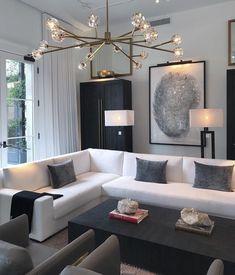 White Sofa Design Ideas & Pictures For Living Room | Modern living ...
