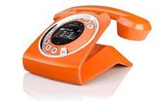 Sixty  Minimalist retro inspired home phone that comes in a variety of bright colours