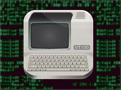 VT100 Terminal Icon by Graphicool.co.il