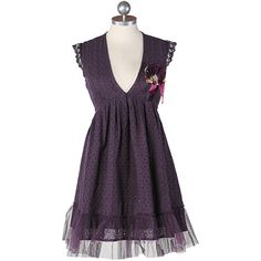 I love purple! What an awesome dress. $51