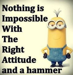 Top 31 Funny Quotes Humor ⋆ Think n Laugh Minions Fans, Minion Jokes, Minions Love, Minions Quotes, Purple Minions, Minion Stuff, Bad Minion, Minion Things, Minions 2014