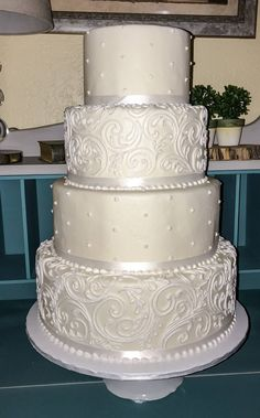 most popular wedding cakes you can get to inspired 54 Fake Wedding Cakes, Wedding Cake Prices, Floral Wedding Cakes, Elegant Wedding Cakes, Wedding Cakes With Flowers, Beautiful Wedding Cakes, Gorgeous Cakes, Wedding Cake Designs, Wedding Cupcakes