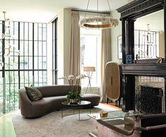 Top 10 NYC Interior Designers - Love this design by Bella Mancini