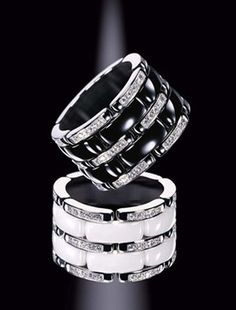 Chanel masters Combining the sleekness of black and white with the sparkle of diamonds. ♥ #TARTCollections