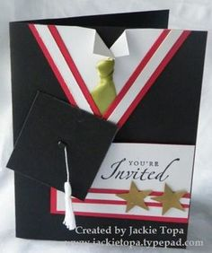 Graduation Card Ideas for High School and College: Sayings, Messages, Printables, and Graduation Cards Handmade, Graduation Greetings, Handmade Cards, Graduation Announcements, Graduation Invitations, Card Sayings, Congratulations Card, Printable Cards, Masculine Cards