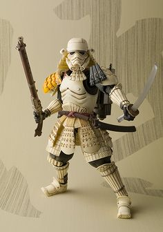 Samurai inspired Star Wars action figurines by Tamashii Nation