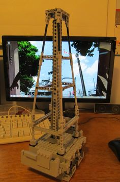 Mast WIP | As expected, this is proving a significant challe… | Flickr Lego Military, Lego Design, Things To Think About, Shapes