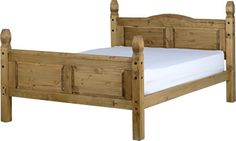 Corona Mexican 5ft Bed High Foot End