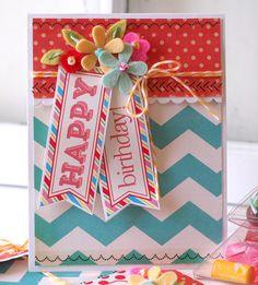Guest Designer; Betsy Veldman #card #labelsbythedozen #stickerstitches #twine http://srm-stickers.blogspot.com/