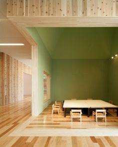 The Leimondo Nursery School  Nagahama, Japan  A project by: Archivision Hirotani Studio Architecture