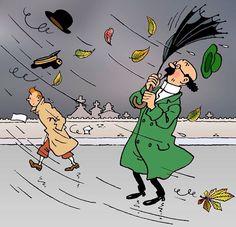 Illustration Dessins Hergé raretés peu connu Novembre 1958