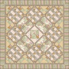 Dashing Roses Throw By: Patricia Bravo for Art Gallery Fabrics