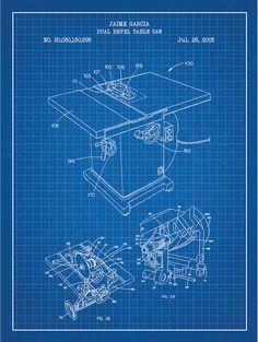 Dual Bevel Table Saw - J. Garcia - 2005