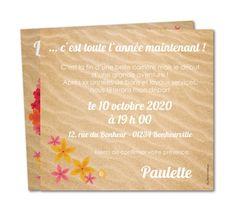 Carte invitation départ retraite Couronne d'hibiscus (WR-815)
