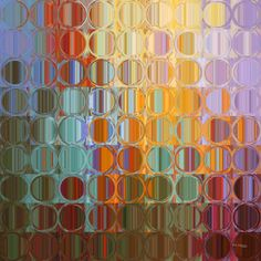 Abstract Art | Circles and Squares #35. Modern Fine Art | Limited Edition
