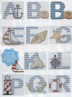 Nautical alphabet part 1