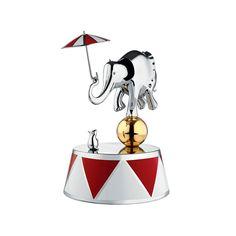 Pozytywka Ballerina z edycji limitowanej Officina Alessi Circus. Dostępna w przedsprzedaży na CzerwonaMaszyna.pl