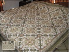 jacobs ladder quilt pattern   jacobs ladder quilt pattern. all in neutrals. a nice sashing is added.