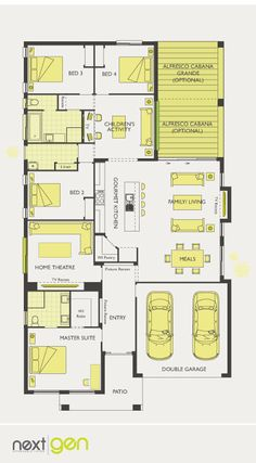 McDonald Jones Homes - Havana Collection - Floorplan #Floorplans #luxuryhome