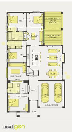 McDonald Jones Homes - Havana Collection - Floorplan #Floorplans #luxuryhome