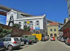 LXFactory, Lisbon.  A place for street art, good food and thrifty shopping!
