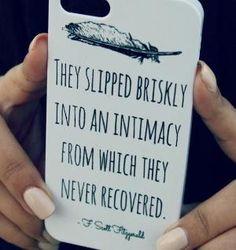 F. Scott Fitzgerald - iPhone Case by madge