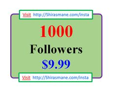 Want to become famous on Instagram...! #followme #followforfollow #instafashion #instafood #instafollow Buy 1,000 Instagram Followers for $9.99 Only...! Visit http://Shirasmane.com/insta