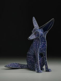 "Saatchi Art Artist Anne  Lemanski; Sculpture, ""FENNEC FOX (DOG STAR)"" #art"