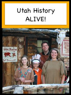 Utah History Alive. Great resources and ideas to teach Utah history hands on!