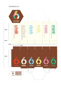 Here you go @Anthony PhamChocolate Box Design (Nestle) by Michael Turner, via Behance. The flat version. PD