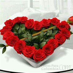 Valentines Flowers, Love Valentines, Valentine Gifts, Valentine's Day Flower Arrangements, Funeral Arrangements, Deco Floral, Floral Design, Rosen Box, Love Rose