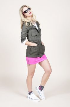 Bench Beeish jacket for the season SS14 // #Studio25Finland