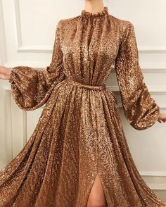 +fabric:+Tulle Feature:+decal If+you+need+a+custom+made+dress,+please+measure+yo. , +fabric:+Tulle Feature:+decal If+you+need+a+custom+made+dress,+please+measure+yo. Hijab Evening Dress, Evening Dresses With Sleeves, Hijab Dress Party, Evening Gowns, Elegant Dresses, Pretty Dresses, Beautiful Dresses, Casual Dresses, Handmade Dresses
