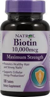 To all the people who ask about my long hair and how to grow theirs longer, I Take 10,000mcg of BIOTIN a day ! I get this kind at Sprout's !