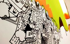 Wall Painting for Purestone by Ruchi Shah, via Behance