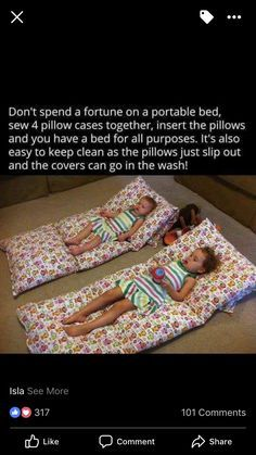 This is a good use for movie parties while babysitting! 2019 This is a good use for movie parties while babysitting! The post This is a good use for movie parties while babysitting! 2019 appeared first on Pillow Diy. Sewing Crafts, Sewing Projects, Diy Projects, Diy For Kids, Crafts For Kids, Kids Beds Diy, Portable Bed, Diy Bebe, Future Mom
