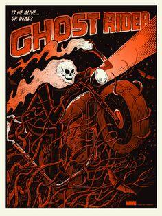 Ghost Rider Variant by Methane Studios – Mondo
